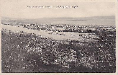 View From Highlandmans Road, HELENSBURGH, Dunbartonshire