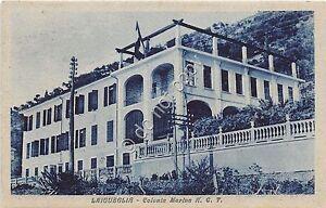 Cartolina-Postcard-Laigueglia-Colonia-Marina-A-C-T-1950