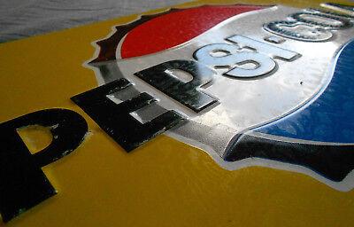 Pepsi - Cola altes Blechschild