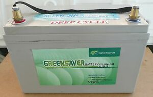 BATTERY DEEP CYCLE 12VOLT - 100AH - AGM Beenleigh Logan Area Preview