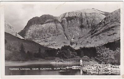 Torren Lochan, Near Clachaig, GLENCOE, Argyllshire RP