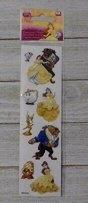 Disney princess belle sleeping beauty EK Success Dimensional puffy Stickers 8pc