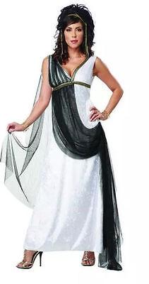 Awesome Adult Woman's APHRODITE Goddess Dress Costume Sz L (10-12) New