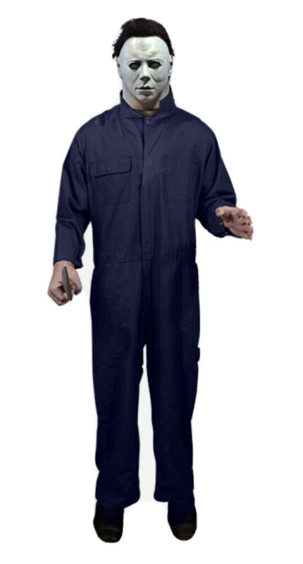 Michael Myers Standing Poseable Prop Life size Trick Or Treat Studios  BRAND NEW