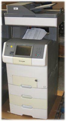 Lexmark X736dte All-in-One FAX Drucker Kopierer Scanner B-Ware 121.750 Seiten - Lexmark All In One