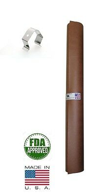 "как выглядит Фольга, упаковка 24"" x 100 Pink/Peach Butcher Paper Roll Smoker Safe Aaron Franklin BBQ Style фото"