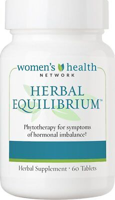 Herbal Equilibrium - 60 Tablets - Natural Menopause Relief Supplement for