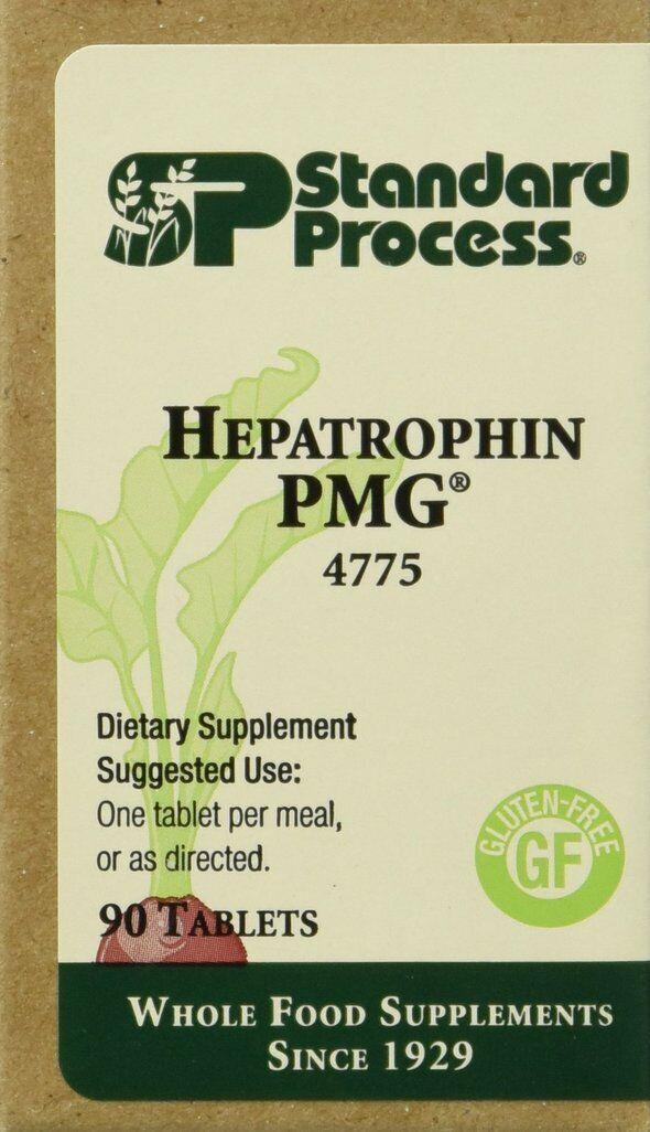 Standard Process Hepatropin PMG 90 Tablets