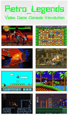 6666 games in 1 Ultimate Classic Collections- Retro Legends PC EMULATOR xbox ps4