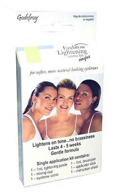 Godefroy Eyebrow Lightening Creme Kit Singles