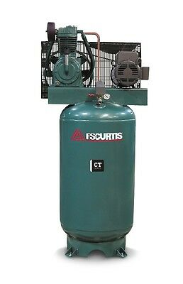 Fs Curtis Ct Series Simplex Vertical Tank Mounted Air Compressor 5 Hp 2301