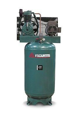 Fs Curtis Ct Series Simplex Vertical Tank Mounted Air Compressor 5 Hp 2301