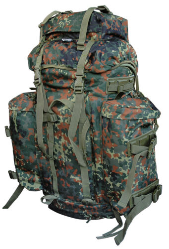 Bw Bundeswehr Flecktarn Backpack Mountain Infantry Army Mountain Pack US