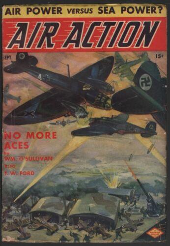 Air Action 1940 September, #2.    Pulp