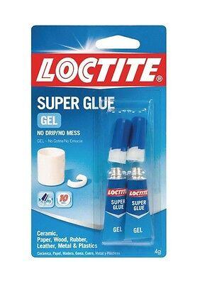 Henkel Loctite 1255800 Loctite Super Glue Gel 2g 2 Tubes