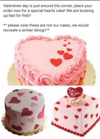 Valentines Day special at Roo's Cakes