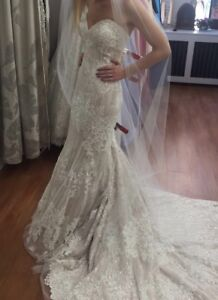 WEDDING DRESS BRAND NEW WITH TAGS