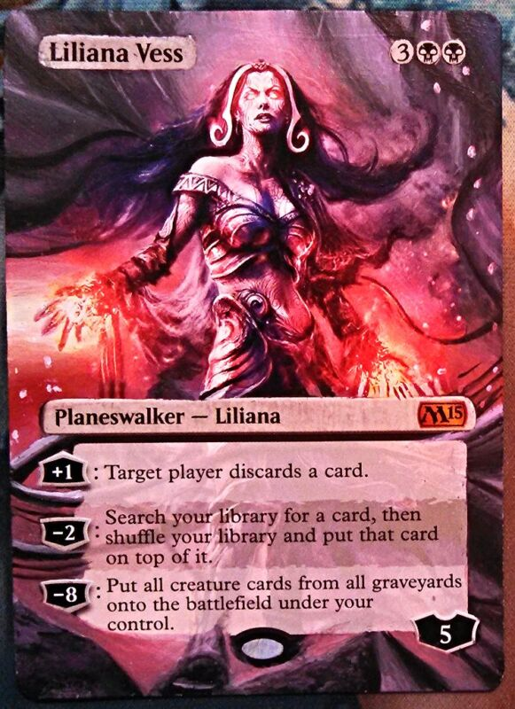 Liliana Vess - Full art / Altered