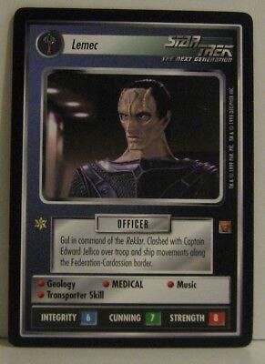 Star Trek TNG CCG Rules of Acquisition  Naprem  Rare Card