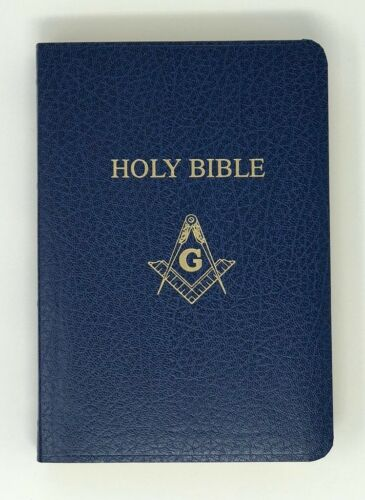 New Freemason Masonic Member Bible Master Mason Edition