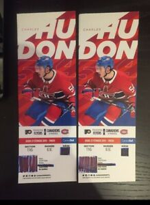 116 EE (PHI vs. MTL) 21 Feb. rows from the ice 400$