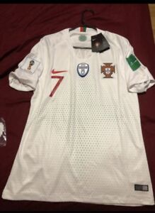 Ronaldo World cup jersey with euro champ patch