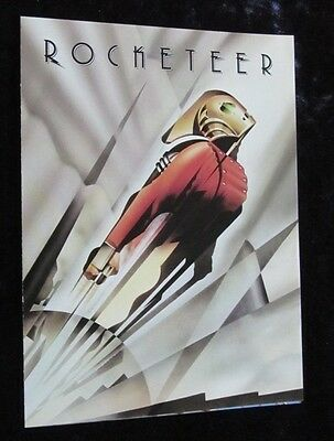 THE ROCKETEER promotional flyer BILL CAMPBELL, JENNIFER CONNELLY