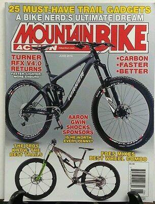 Mountain Bike Action June 16 Carbon Faster Better Trail Gadgets FREE SHIPPING