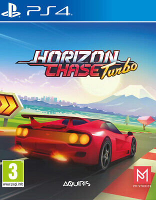 Horizon Chase Turbo (PS4)  BRAND NEW AND SEALED - IN STOCK - QUICK DISPATCH