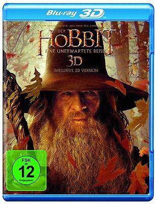 3D Blu-ray * Der Hobbit: Eine unerwartete Reise * NEU OVP *(Der Herr der Ringe) (Herr Der Ringe 3d)