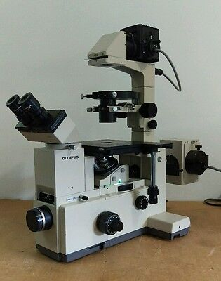 Olympus Microscope Imt-2 Phase Contrast And Fluorescence