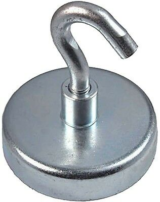 1 Neodymium Hook Magnet Holds 200 Lbs - Heavy Duty
