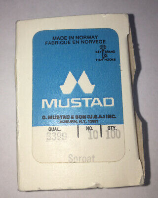 MUSTAD 7826 DOUBLE LOOSE HOOKS--SIZE 2--100 COUNT---FREE SHIPPING