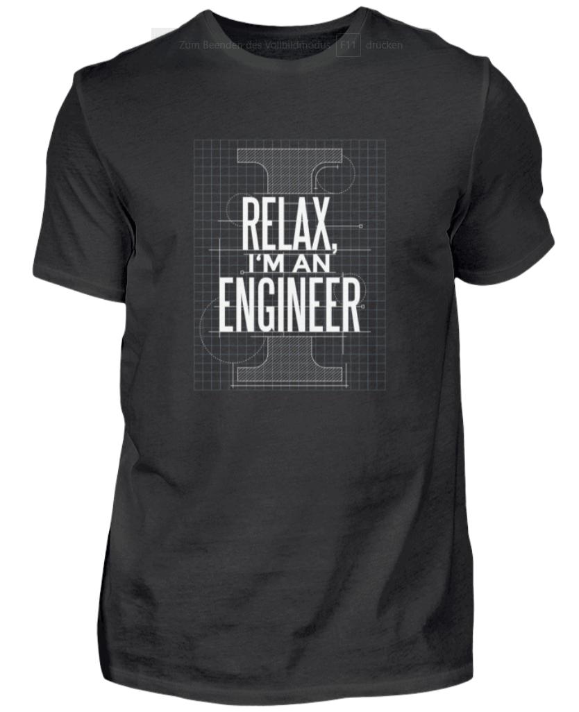 Ingenieur T-Shirt Herren Diplomingenieur Maschinenbau Geschenk