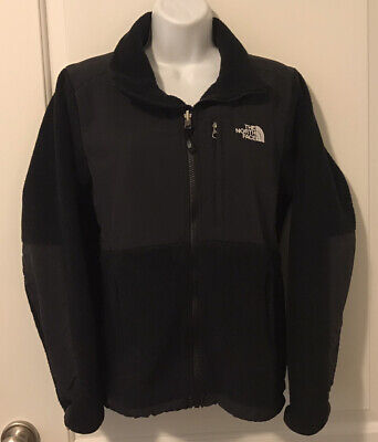 Womens THE NORTH FACE Black Zipper Fleece Polartec Jacket - Size S