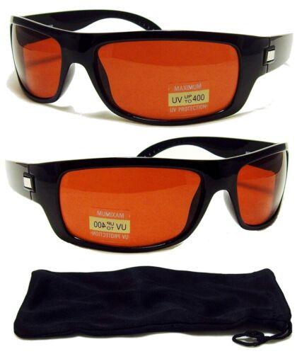 HD Driving Aviator SunGlasses Golf Vision Blue Blocker Lens FREE CASE New