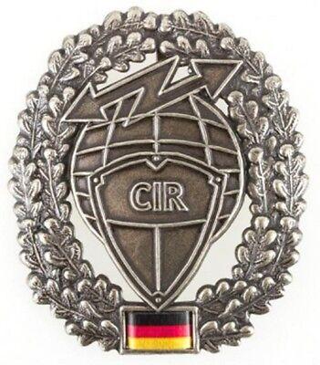 Barettabzeichen Cyber- und Informationsraum  CIR / Metall Barett BW Abzeichen