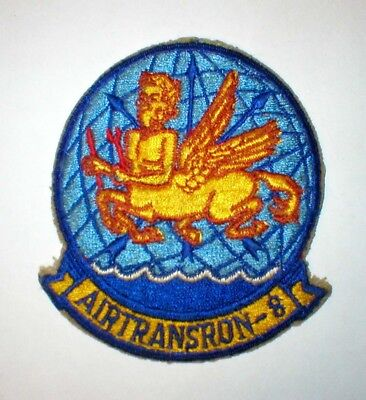 Vintage US Navy USN Airtransron-8 Patch  Free Shipping Vietnam