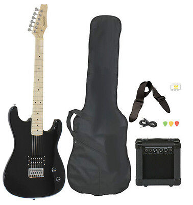 Beginner Electric Guitar Package Amp Case Strap Picks Tuner Starter Pack on Rummage
