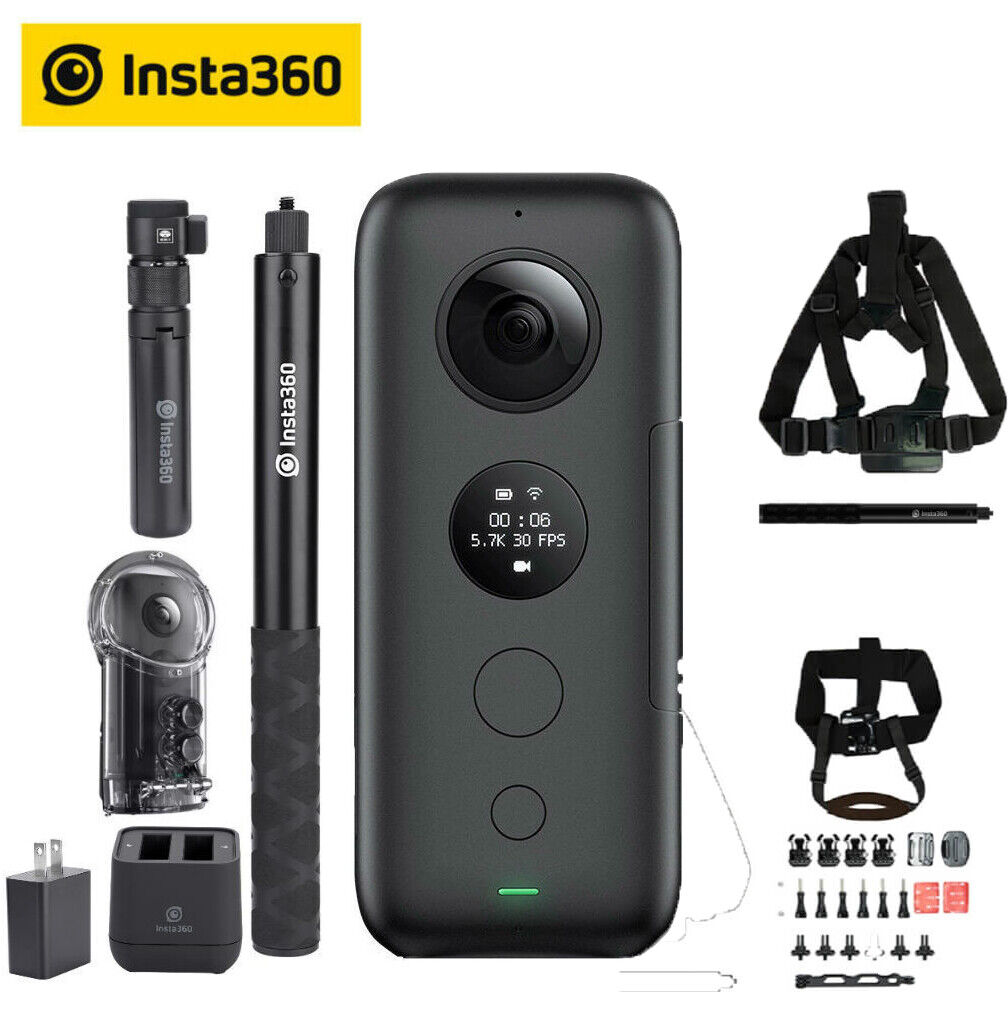 Insta360 ONE X Camera Video Bullet Time Invisible Selfie Sti