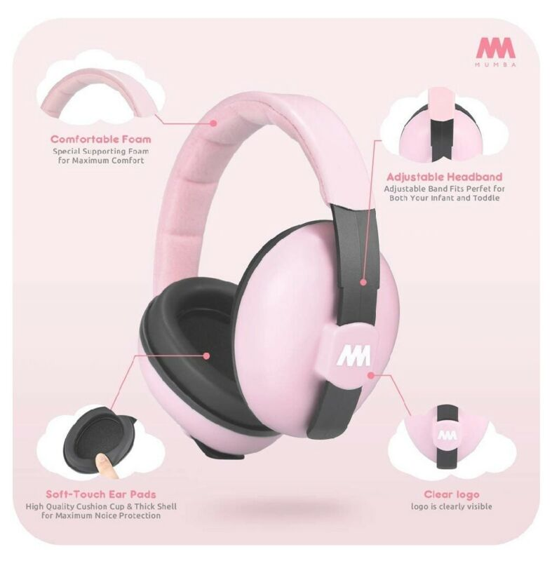 Baby Ear Protection Noise Cancelling Headphones For Babies And Toddlers - Mumba