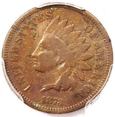 1873 DOUBLED LIBERTY INDIAN CENT PENNY 1C   PCGS VG DETAILS    VARIETY!