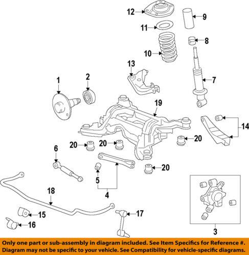Chevrolet GM OEM 10-15 Camaro Rear-Upper Control Arm 23110245