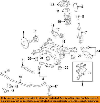 GM OEM-Rear Hub 92206974