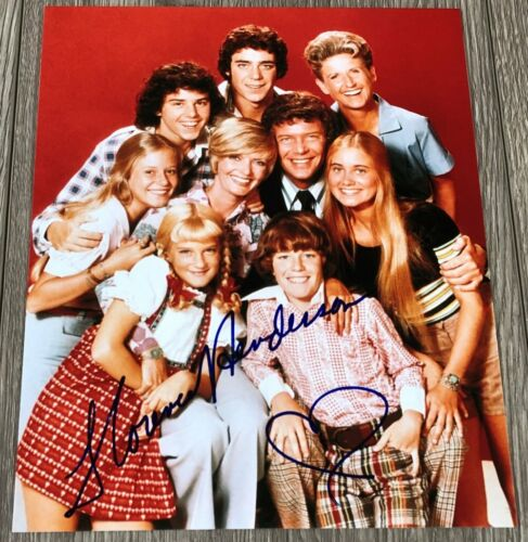FLORENCE HENDERSON SIGNED AUTOGRAPH THE BRADY BUNCH 8x10 PHOTO C w/PROOF