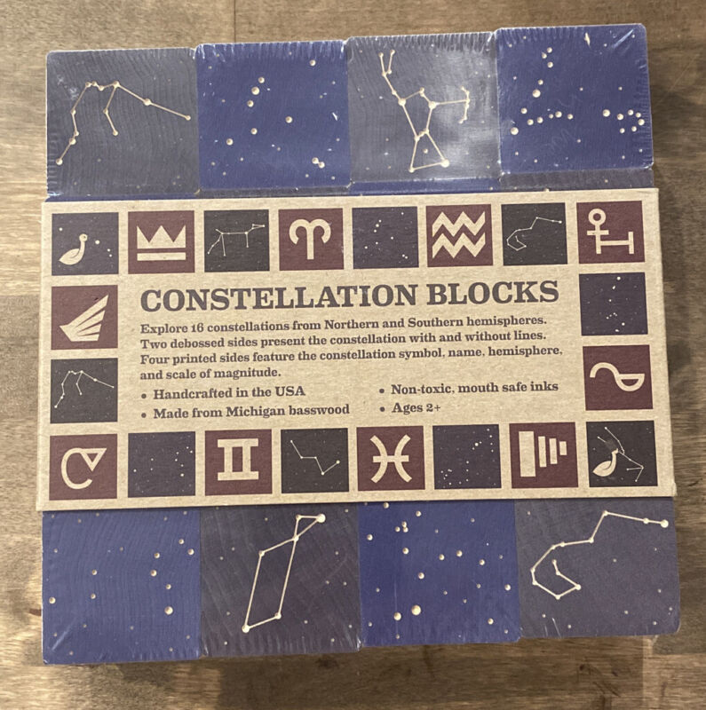 Uncle Goose Constellation Blocks --Made in the USA