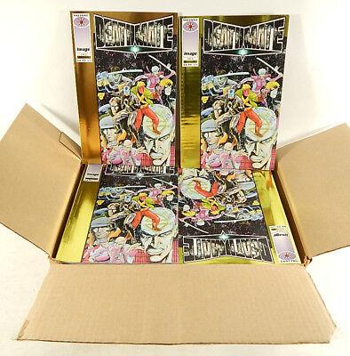 Case of (100) Deathmate Yellow plus (2) Gold Comic Books (Valiant / Image 1993)