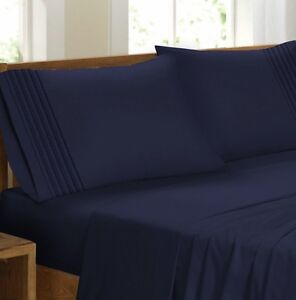4 Piece plated sheet set (king / queen)