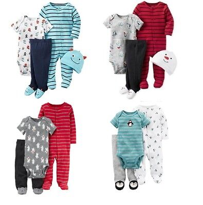 NWT Carter's Boys Take Me Home Layette Set Shower Gift Outfit NB 3M 6M 9M - Home Party Outfit