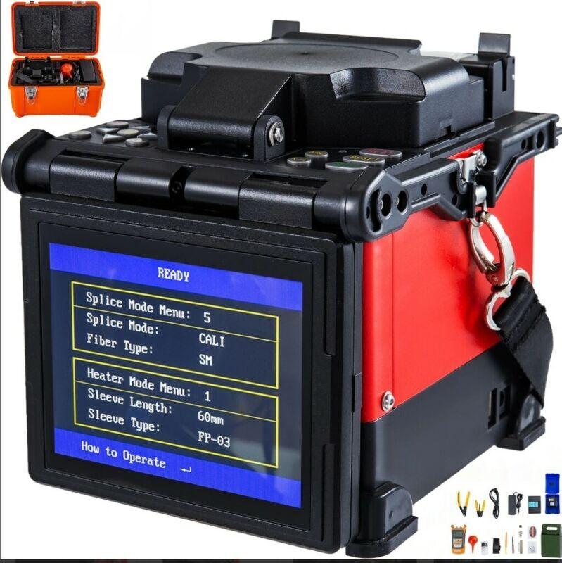 A-80s Fiber Optic Splicing Welding Machine Automatic Fiber Fushion Splicer Kit